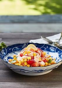 White Fish Ceviche for the Surfers Cookbook
