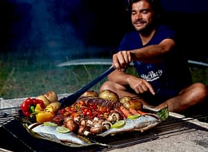 Fish BBQ for for the Surfers Cookbook